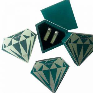 Diamond Shaped Perfume Box