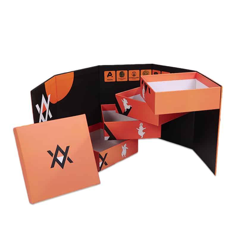 4 Layer High-End Paper Shelf Box