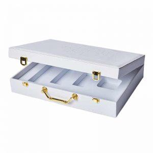 PU Hinged Lid Perfume Packaging Boxes