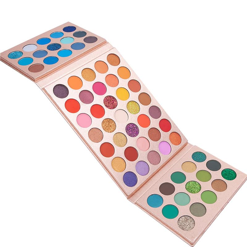 75 Colors Foldable Eyeshadow Palette