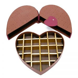 Heart Chocolate Paper Box Package