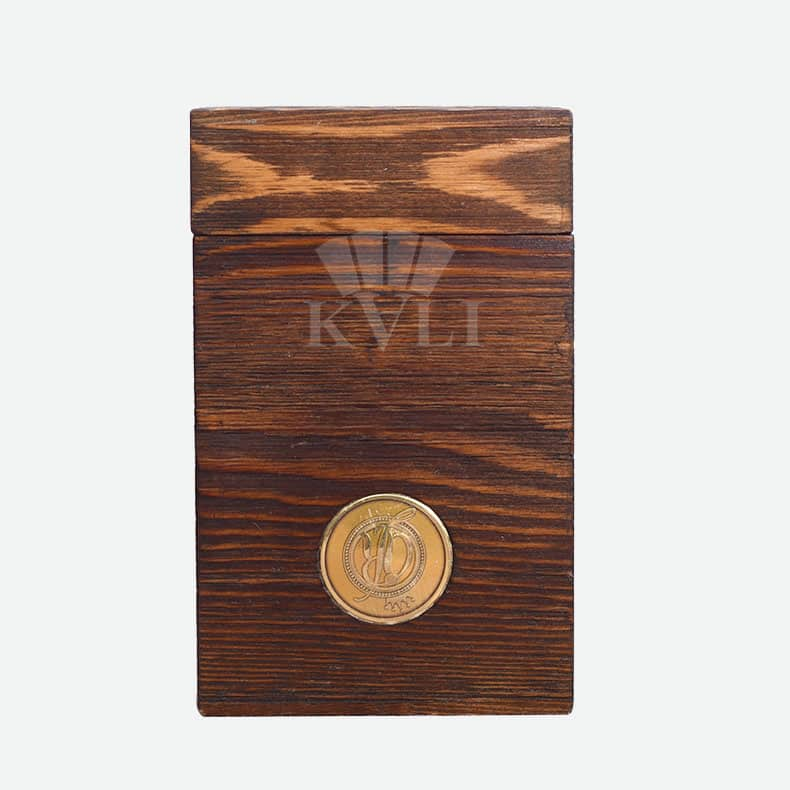 Custom Wood Perfume Gift Box Packaging