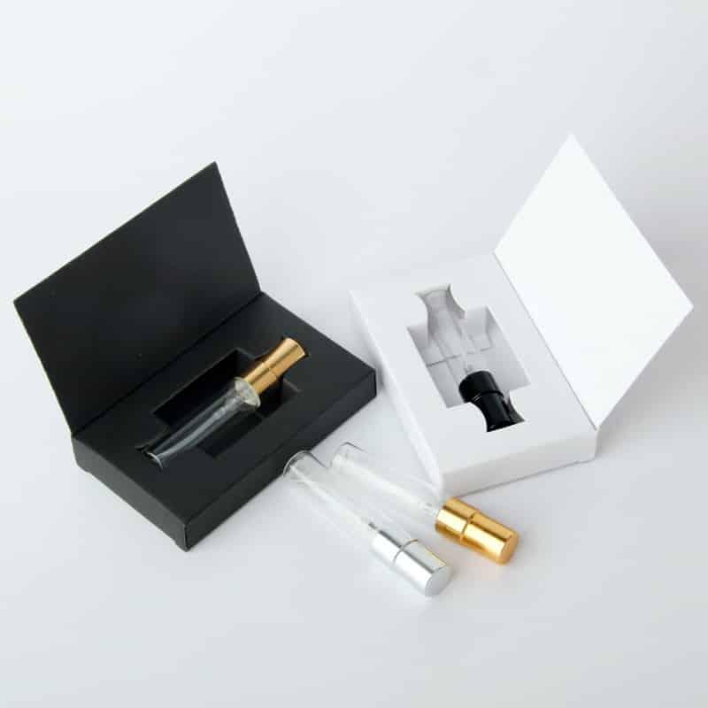 Spray Fragrance Sample Bottle Packaging Boxes