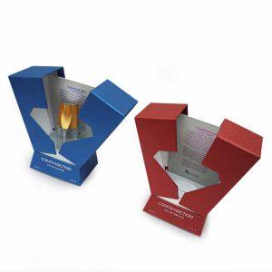 Diamond Cutting Double Door Perfume Box