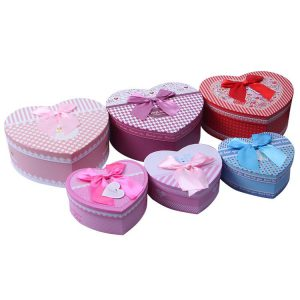 Bulk Heart Shaped Gift Box Set