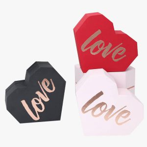 Heart Shape Empty Gift Box