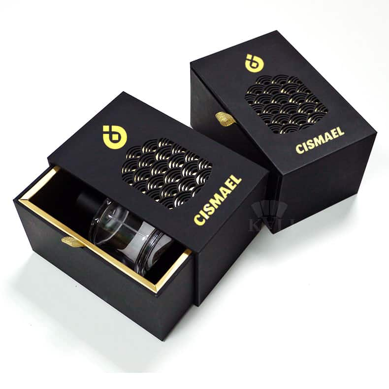 Laser Cutting Luxury Perfume Sliding Boxes