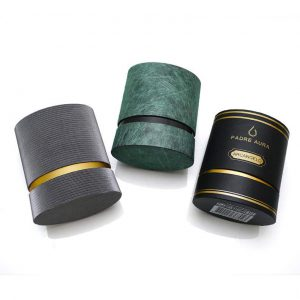 Oval Perfume Tube Packaging Boxes