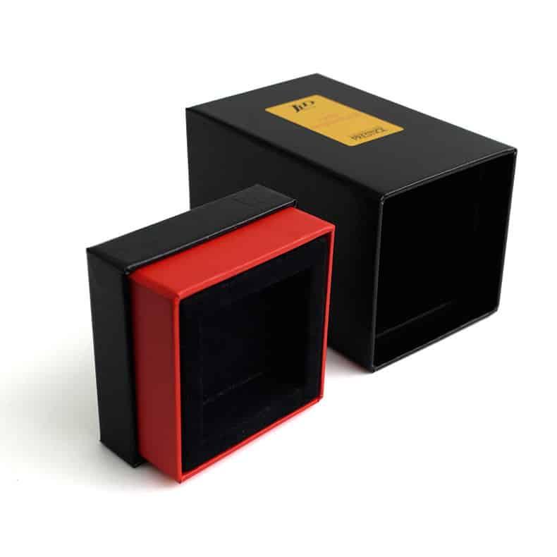 Rigid Cologne Perfume Packaging Box