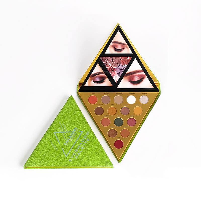 Triangular Eyeshadow Palette Package