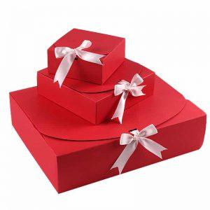 Nesting Folding Paper Gift Box Set