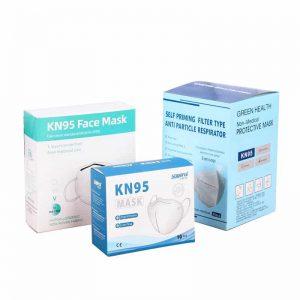 Die Cut SurgicalFace Mask PackagingBoxes
