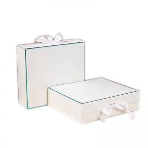 White Self Locking Foldable Box
