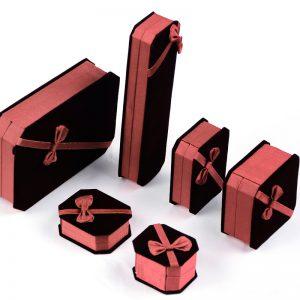 Velvet Jewelry Gift Packaging Boxes