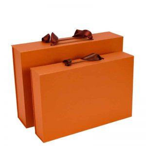 Foldable Gift Boxes With Handles