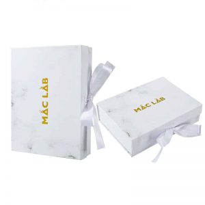 Marble Magnetic Foldable Boxes