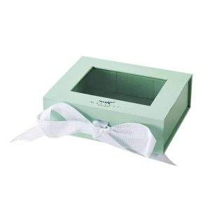 Clear Folding Box With Transparent Window