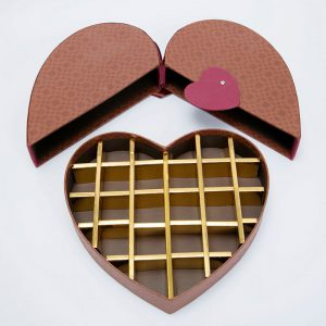 Heart Shaped Chocolate Candy Gift Boxes