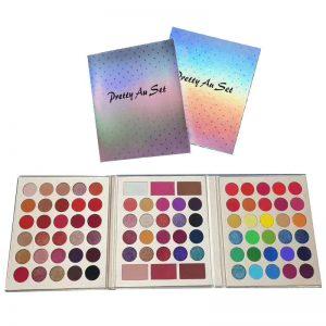 Holographic Eyeshadow Palette Set