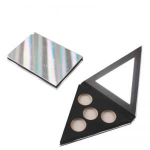Private Label Glossy Holographic Eyeshadow Palettes