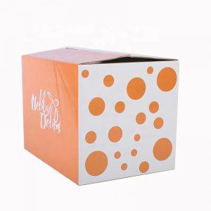 Custom Logo Corrugated Overlap Shipping Boxes