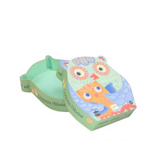 Owl Shaped Holiday Gift Paper Packaging Boxes