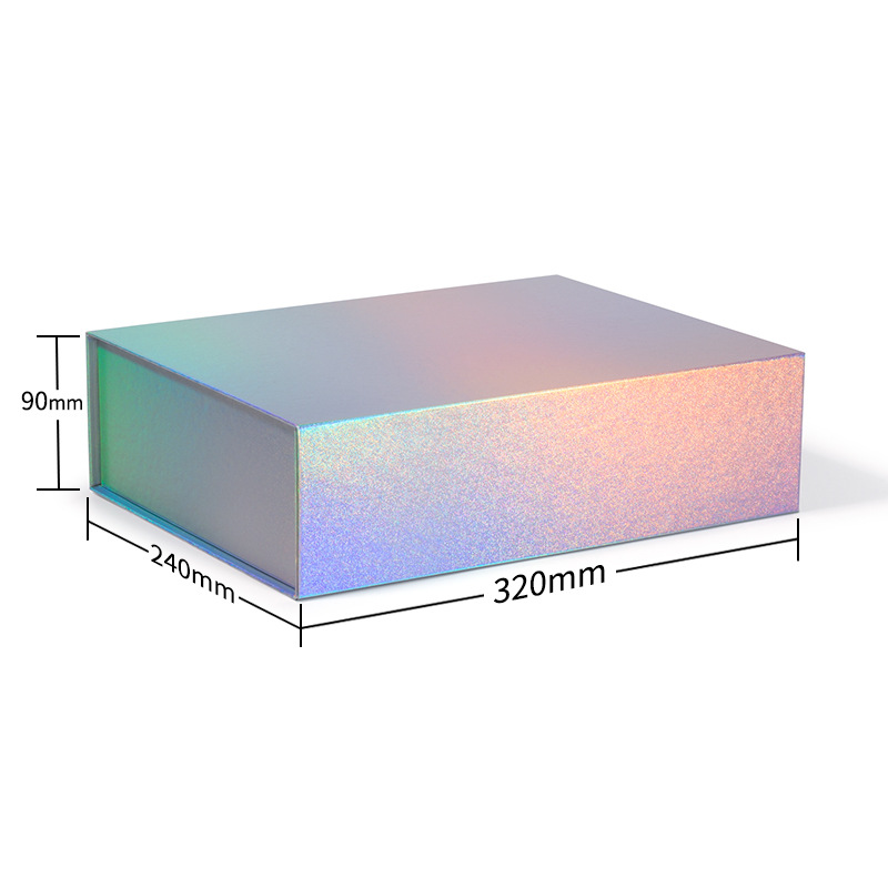 Holographic MagneticFoldableGiftBoxes