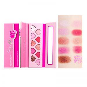 Paper Makeup Palette 10 Colors