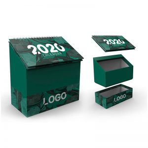 Pencil Paper Packing Box with Calendar