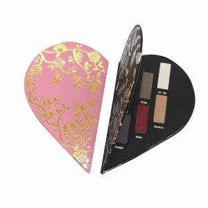 Eyeshadow Palette Heart Shape