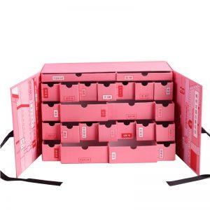 Pink Advent Calendar Lucky Gift Box