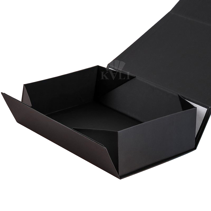 Black Fold Open Gift Boxes