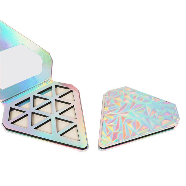 Holographic Diamond Eyeshadow Palette